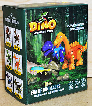 SG2/SG5/SG6 Констр Динозавр разбирайка 19*15см
