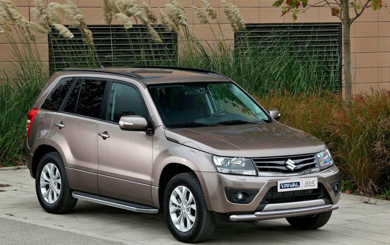 "Пороги ""Premium"" Suzuki  Grand Vitara, 5D (2005-2016)"