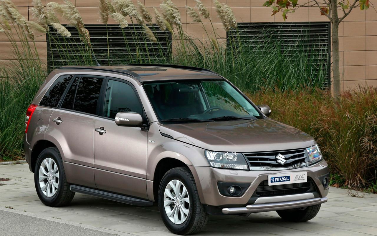 "Пороги ""Premium-Black"" Suzuki  Grand Vitara, 5D (2005-2016)"