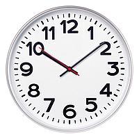 Часы настенные ChronoTop, серебристые, фото 1