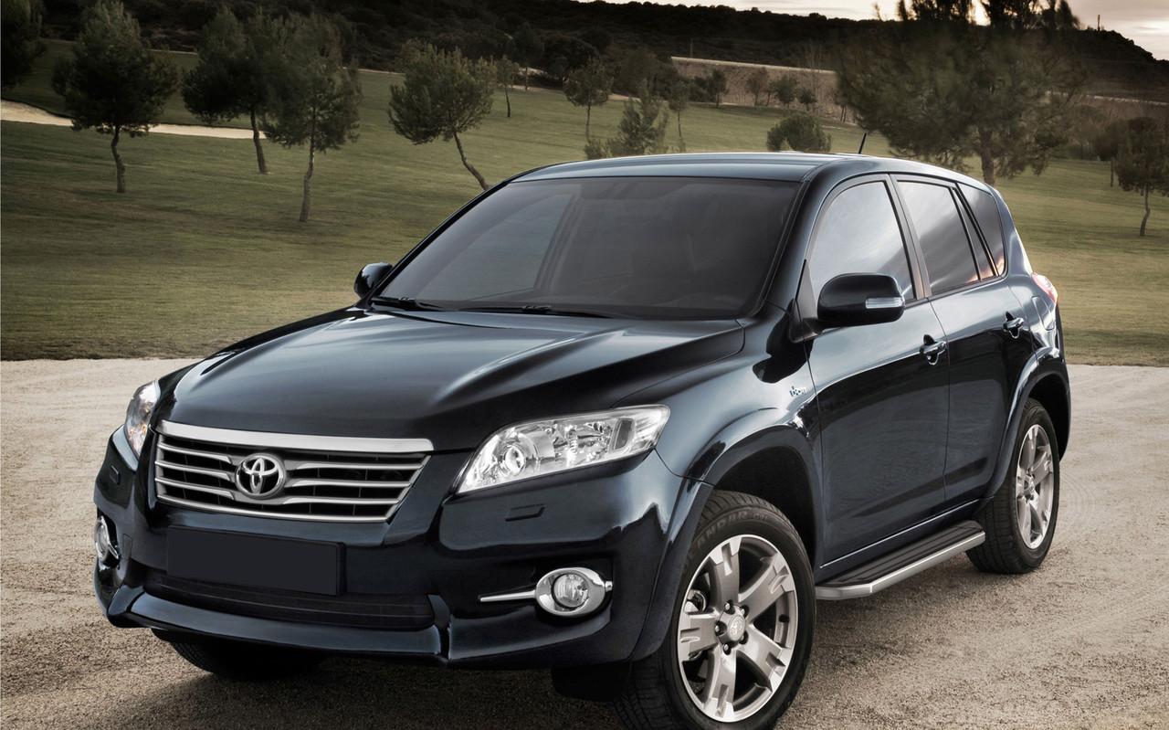 """Пороги """"Premium"""" Toyota Rav 4 (2006-2013)"""
