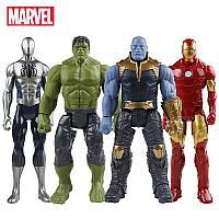 Набор игровых фигурок героев со светодиодной подсветкой глаз Мстители / The Avengers