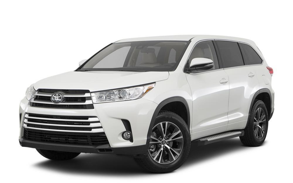 "Пороги ""Bmw-Style"" Toyota Highlander (2014-2017)"