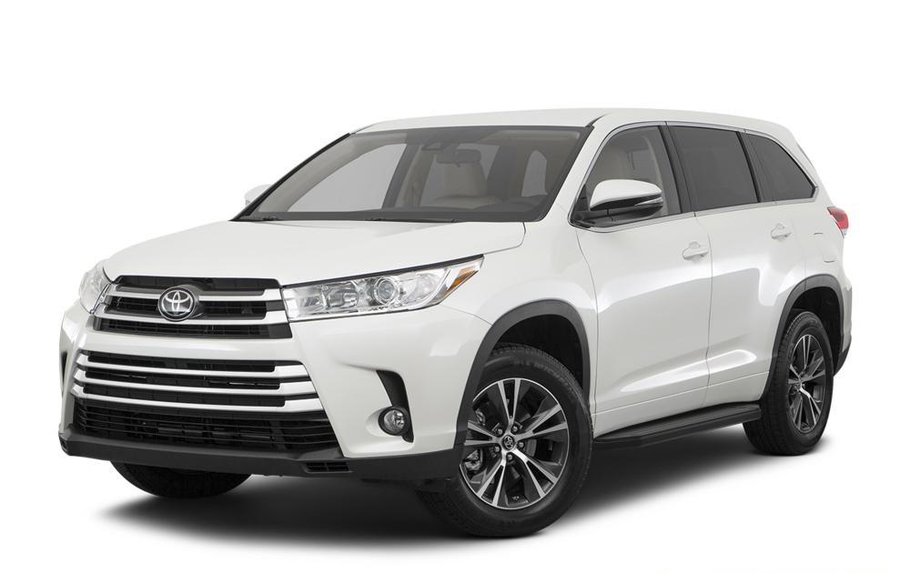 """Пороги """"Premium-Black"""" Toyota Highlander (2014-2017)"""