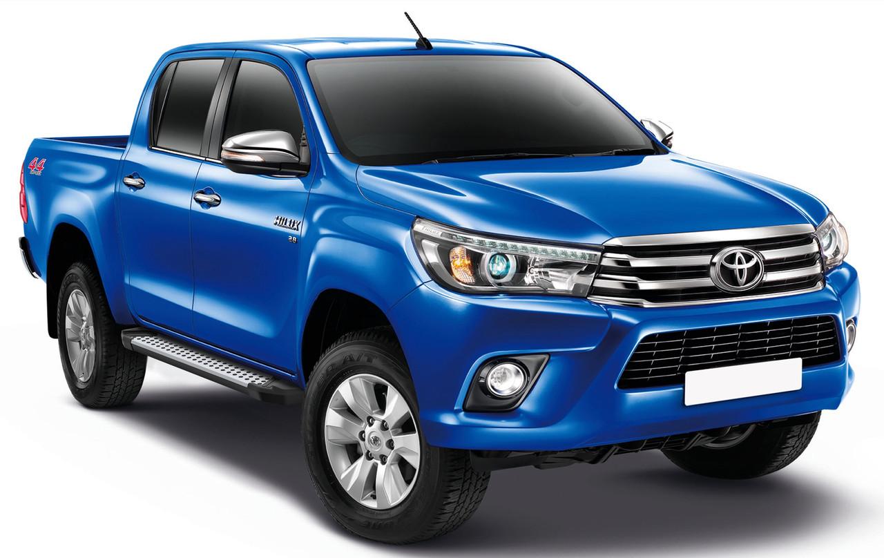 """Пороги """"Bmw-Style"""" Toyota Hilux (2015-)"""