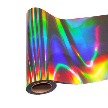 Пленка декор (Голографическая лазер для печати 1,27м х 50м)