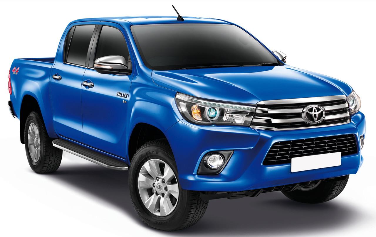 """Пороги """"Premium"""" Toyota  Hilux (2015-)"""
