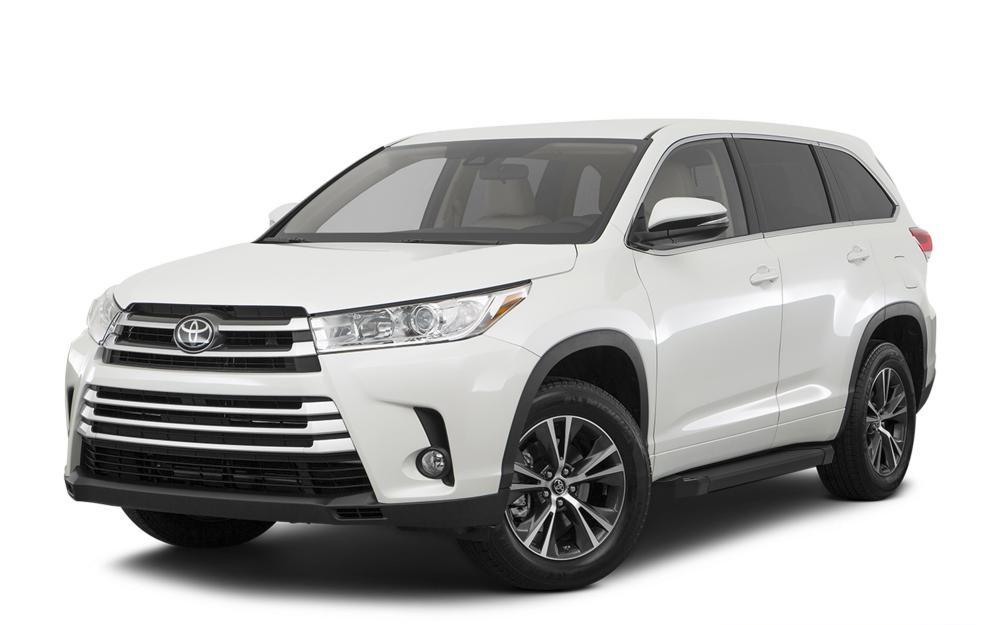 """Пороги """"Black""""  Toyota Rav 4, Highlander  (2014-2017)"""