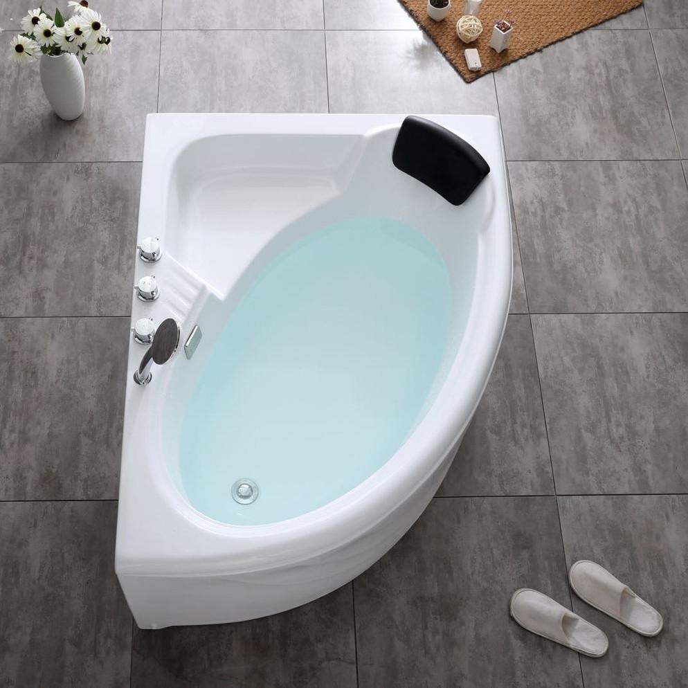 Ванна Акриловая Правосторонняя 1700*1000*400 в комплекте с экраном - фото 1