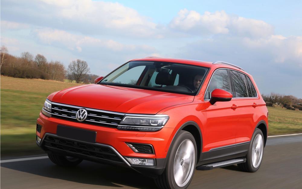 "Пороги ""Bmw-Style"" Volkswagen  Tiguan (2017-)"