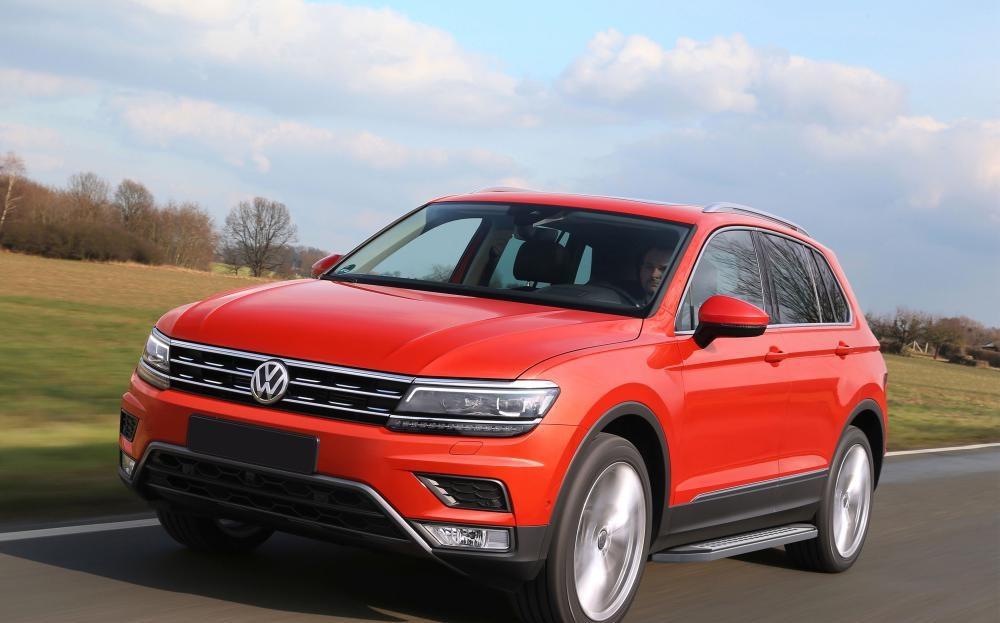 "Пороги ""Bmw-Style"" Volkswagen Tiguan (2017-2021)"