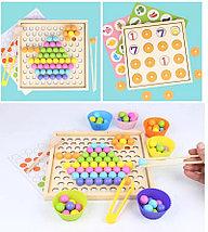 Деревянная шариковая мозаика + игра мемори, фото 2