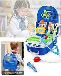 Набор доктора в рюкзаке, 20 предметов, чемодан.