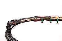 Детская железная дорога 1604-1 A со светом и звуком трек 403 см