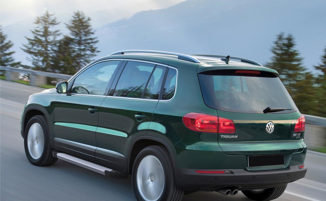 "Пороги ""Silver"" Volkswagen Tiguan (2007-2017)"