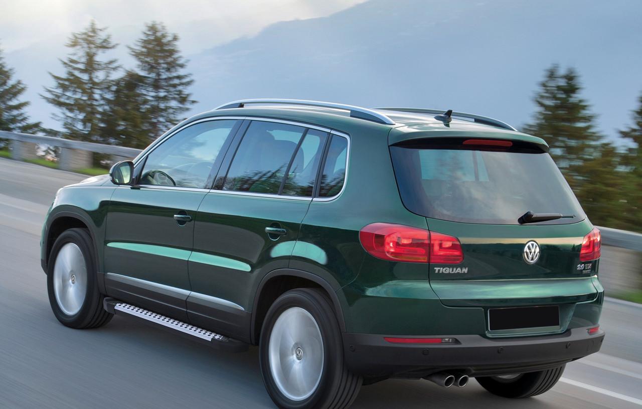 "Пороги ""Bmw-Style"" Volkswagen  Tiguan (2007-2017)"
