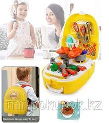 Пластиковая детская кухня Набор
