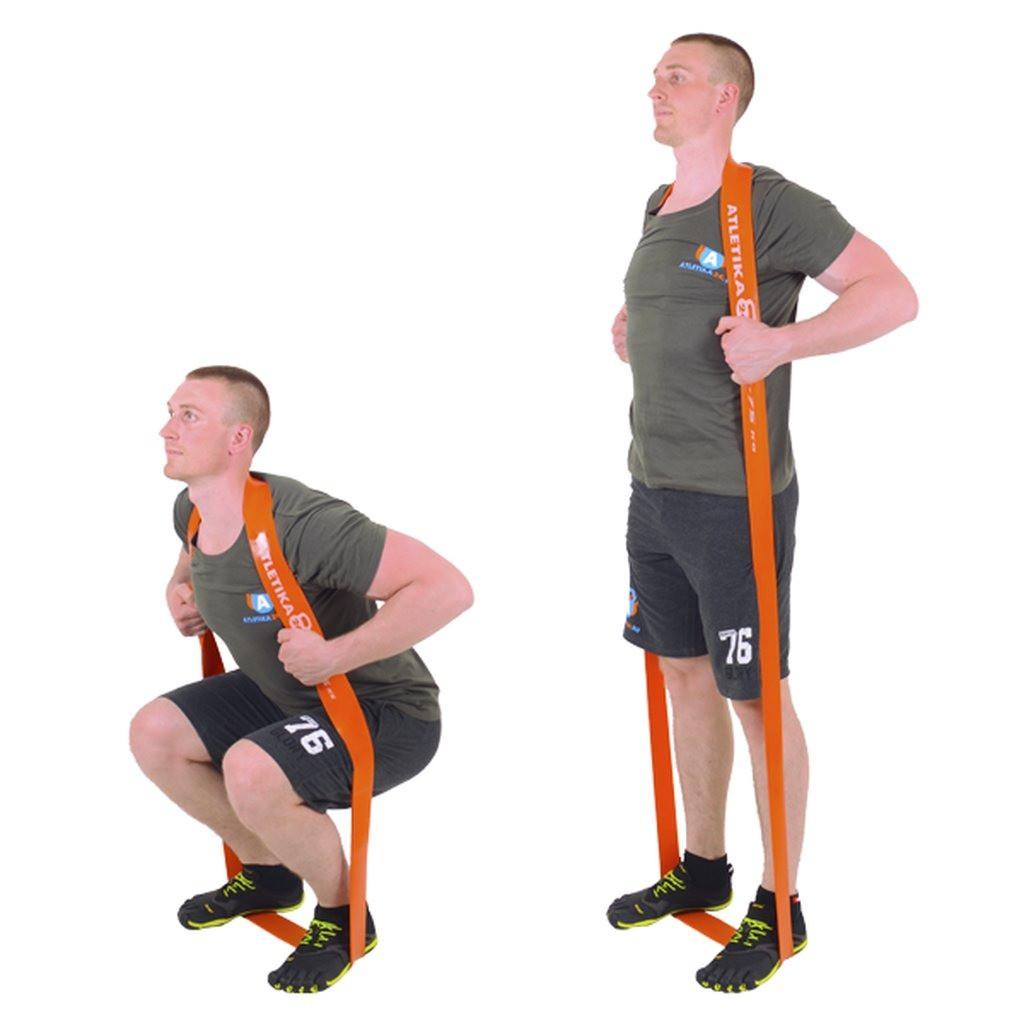 Спортивные резиновые жгуты . Жгут петля - фото 3
