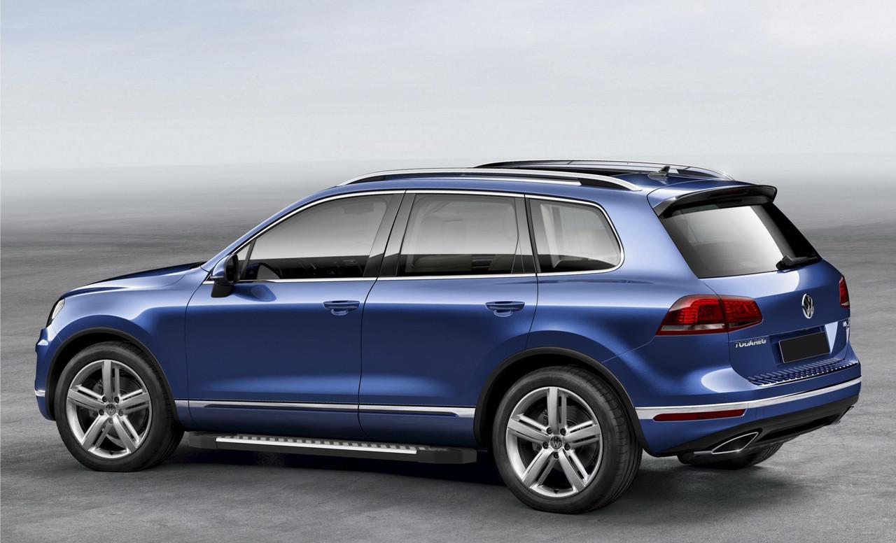 "Пороги ""Bmw-Style"" Volkswagen  Touareg, R-Line (2015-)"