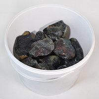 Камень для саун (нефрит-окатыш) 10 кг (ведро)