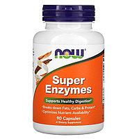 Супер энзимы от NOW Foods 90 капс.