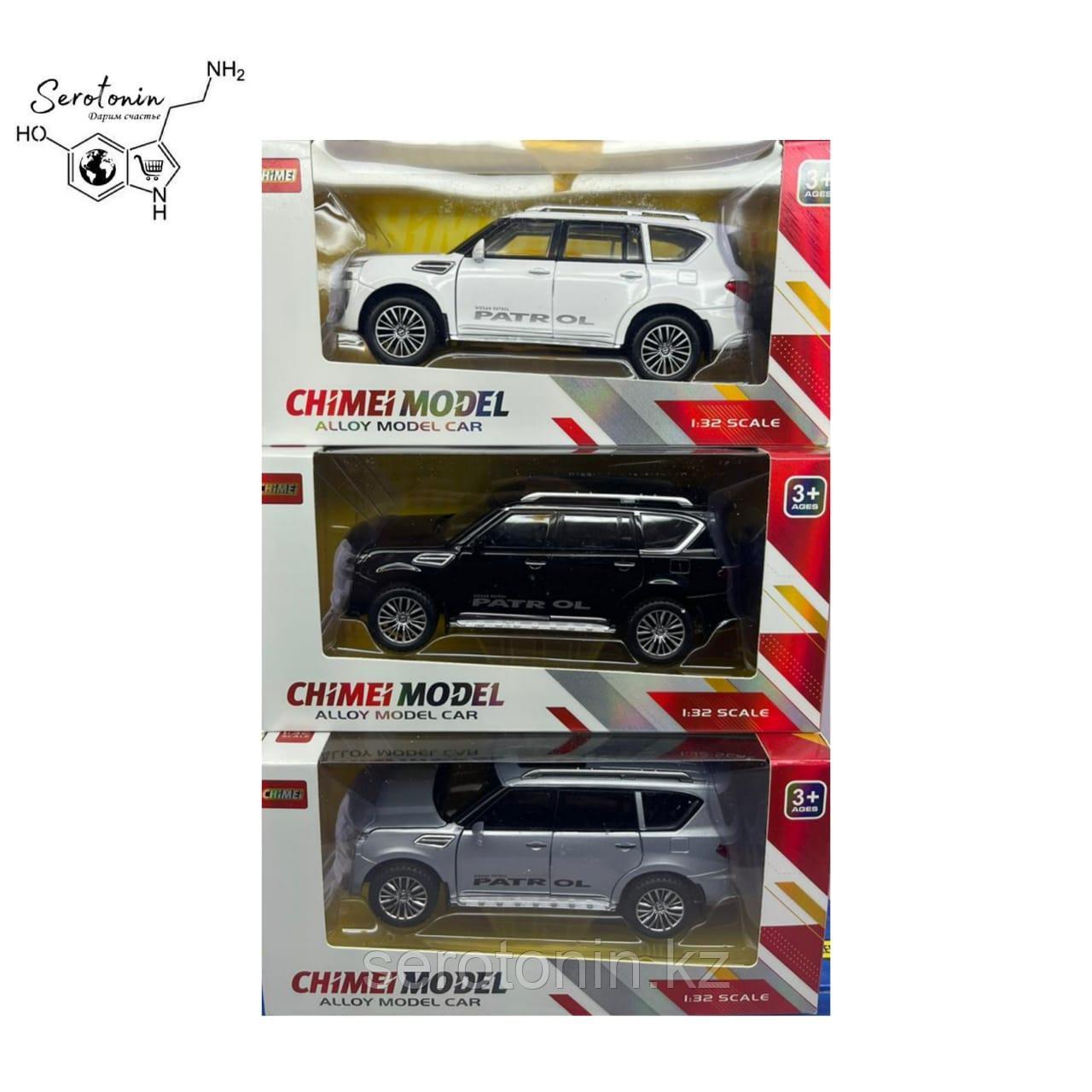Коллекционные машинки Nissan Patrol