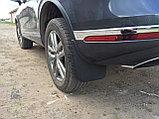 Брызговики для Volkswagen Touareg (2010-2018) Задние (пара), фото 2
