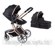 Детская коляска Voondo 2 в 1 YT585 черный
