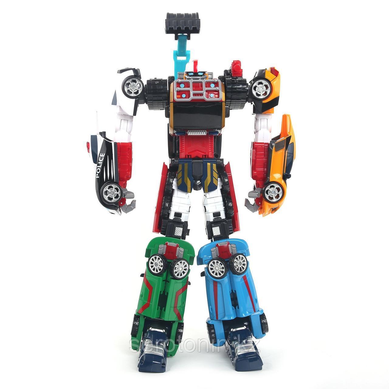 """Робот трансформер """" Robot Magma 6в1"""""""