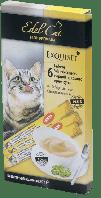 Edel Cat, крем-суп с птицей и печенью, 6х15гр.
