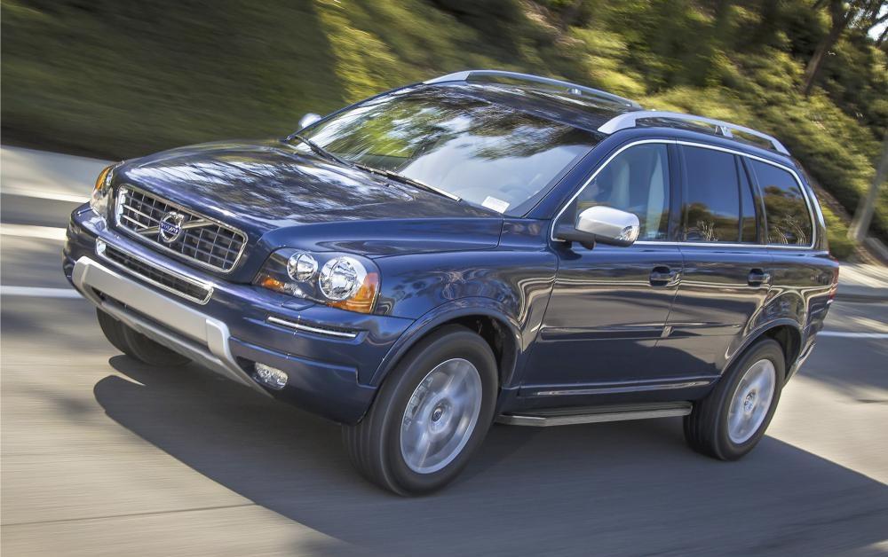"""Пороги """"Premium"""" Volvo XC90 (2002-2014)"""