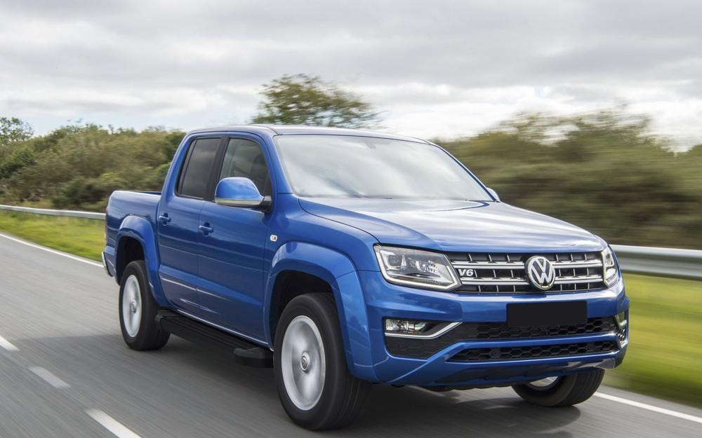 "Пороги ""Black""  Volkswagen  Amarok (2016-2021)"