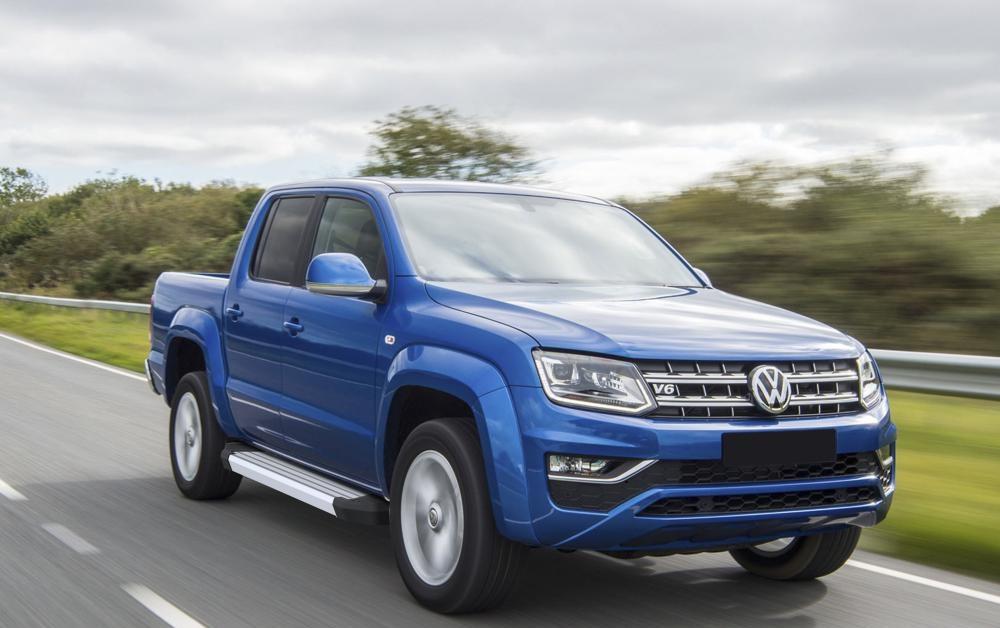 "Пороги ""Silver""  Volkswagen  Amarok (2016-)"