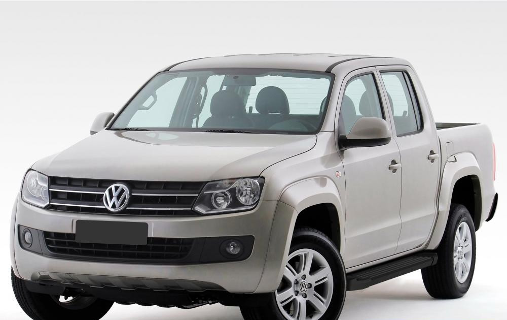 "Пороги ""Black""  Volkswagen  Amarok (2010-2016)"