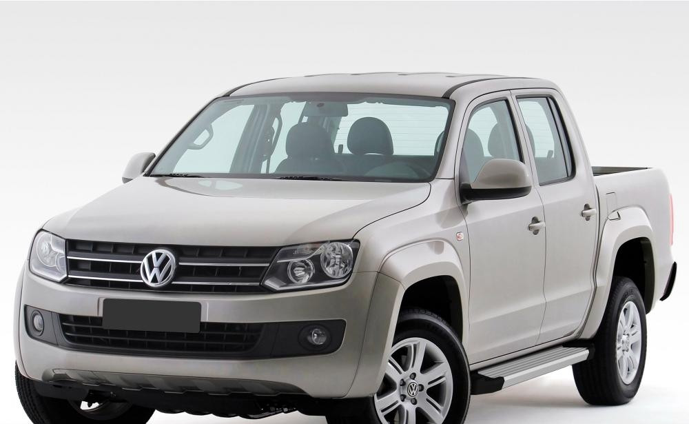 "Пороги ""Silver""  Volkswagen  Amarok (2010-2016)"