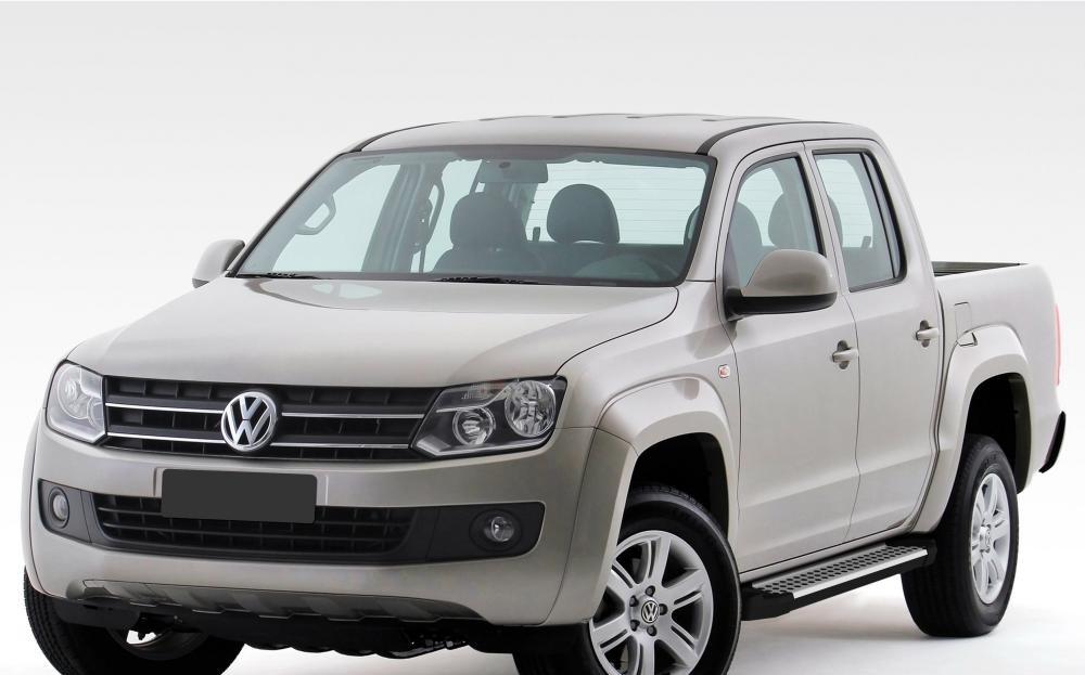 """Пороги """"Bmw-Style"""" Volkswagen  Amarok (2010-2016)"""