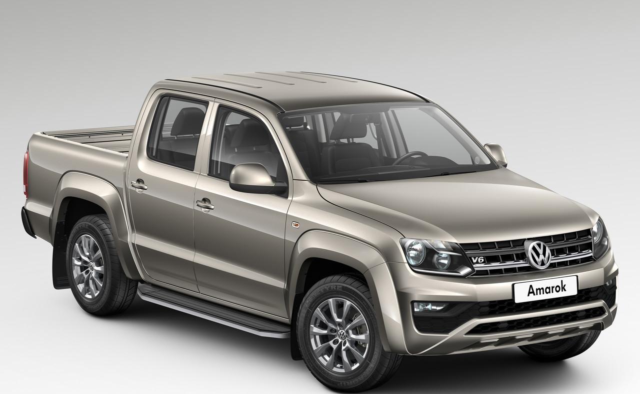 "Пороги ""Premium"" Volkswagen  Amarok (2010-2016)"
