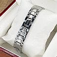 Магнитный браслет Серебристый Султан, фото 8