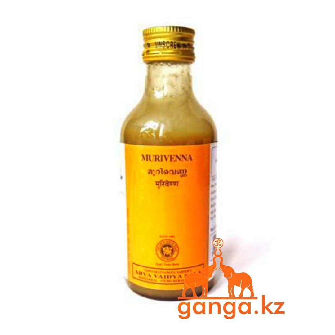 Массажное масло для суставов и костей Муривенна  (Murivenna ARYA VAIDYA SALA), 200 мл