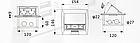 Shelbi Напольный/настольный лючок на 4 модуля, металл, серебро, фото 9