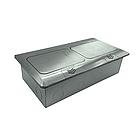 Shelbi Напольный/настольный на 8 модулей, металл, цвет серебро, фото 6