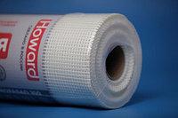 Стеклосетка фасадная 160г/м2 Howard Eurofasade 160 ячейка 5*5мм белая