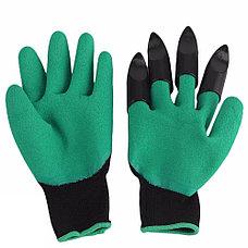 Садовые перчатки Garden Genie Gloves с когтями Дачный сезон!, фото 2