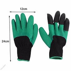 Садовые перчатки Garden Genie Gloves с когтями Дачный сезон!, фото 3