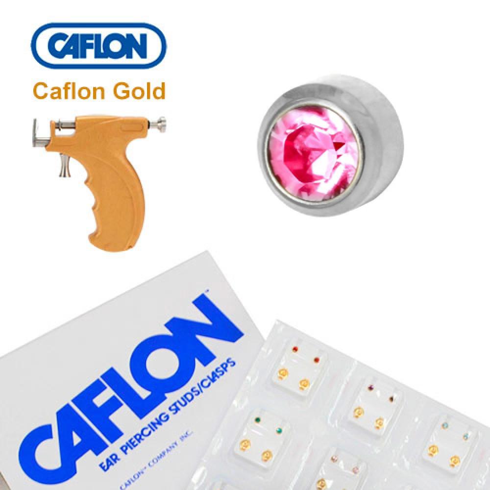 Медицинские серебряные серьги Caflon турмалин - фото 2
