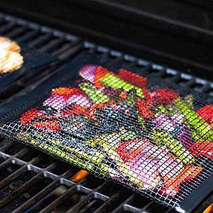 Антипригарный конверт-сетка для барбекю 27x22 см Дачный сезон!, фото 2