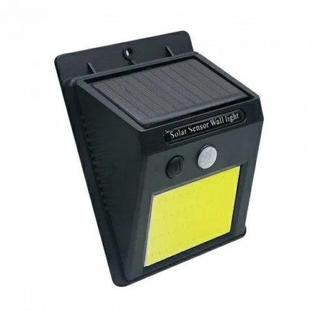 Светильник с датчиком движения на солнечной батарее 48 LED Дачный сезон!, фото 2