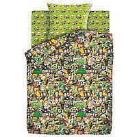 HOMY Комплект постельного белья Футбол Emoji,  HOMY  1.5 спальный