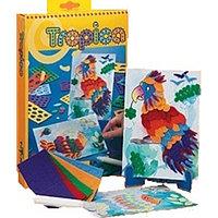 Набор для творчества Totum CREATIVITY Аппликация для изготовления тактильных картинок Тропики 020535