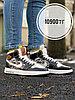 Кеды выс Nike Air Jordan Dior черный